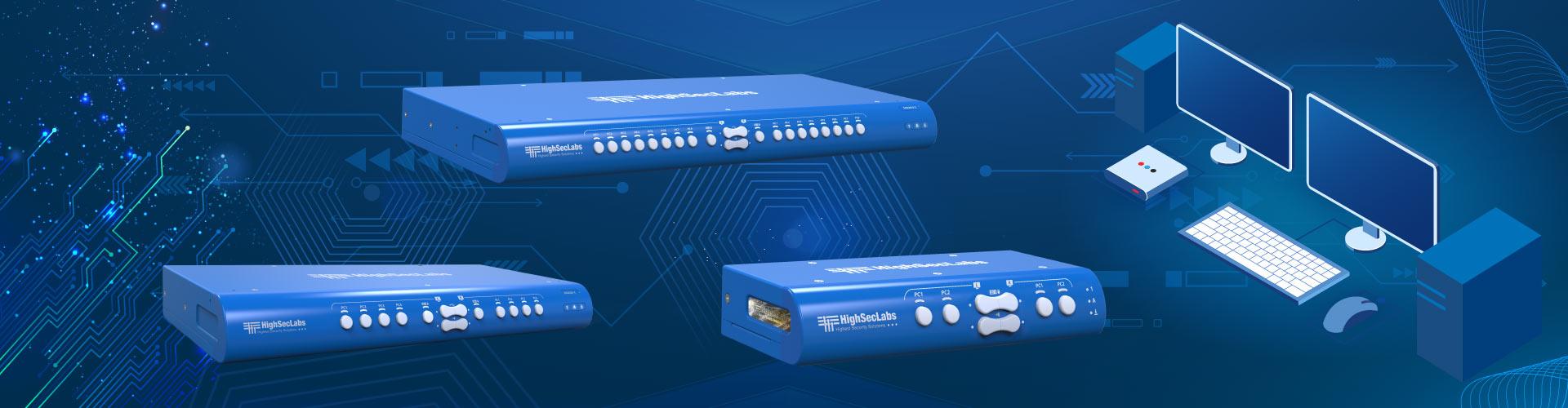 Secure KVM Mini-Matrix