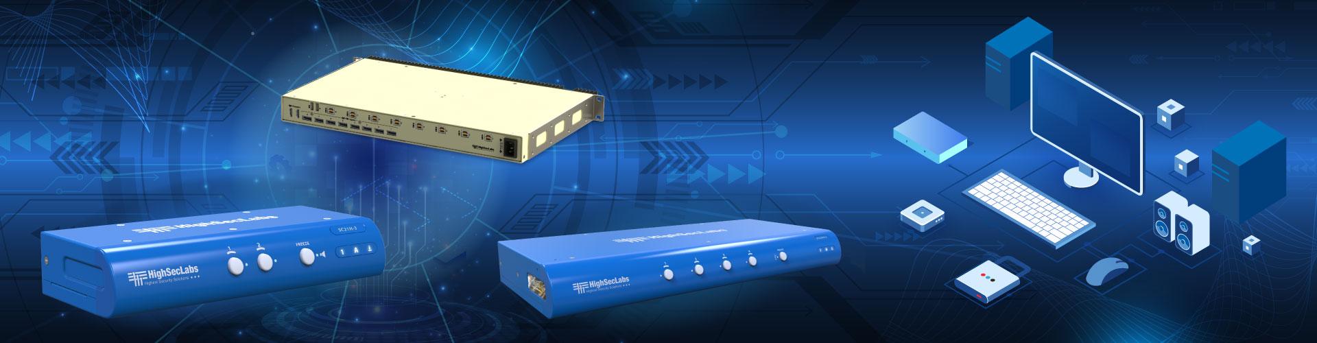 Secure KVM Combiners