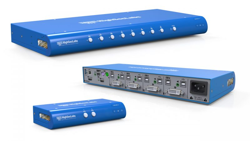 Secure KVM Switches